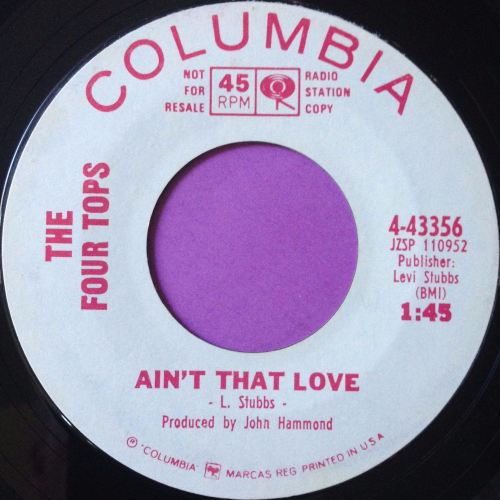 Four Tops-Ain`t that love-Columbia WD E+
