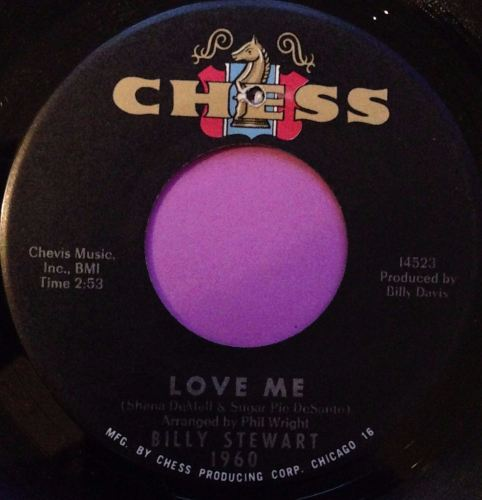 Billy Stewart-Love me-Chess E+