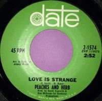 Peaches and Herb-Love is strange-Date E+