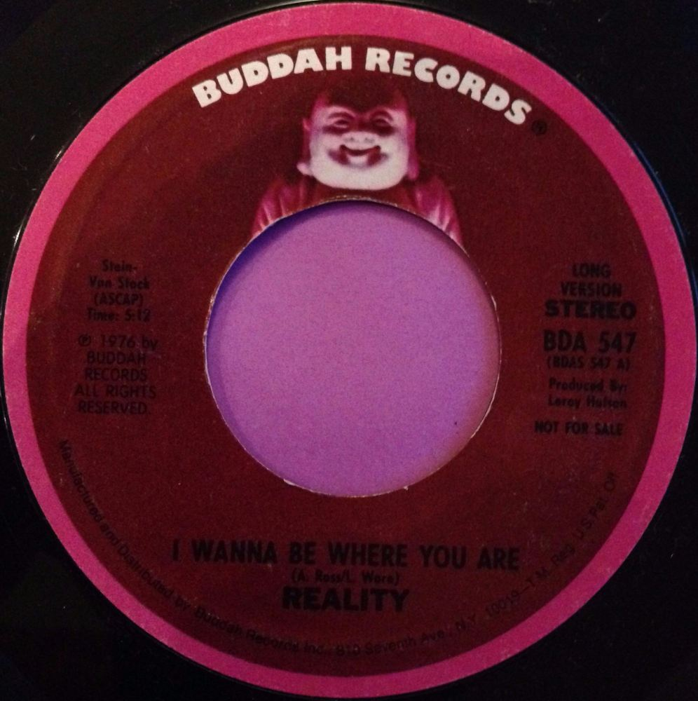 Reality-I wanna be where you are-Buddah E+