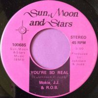 Mokie J.J & R.O.B- You`re so real-Sun moon stars M-