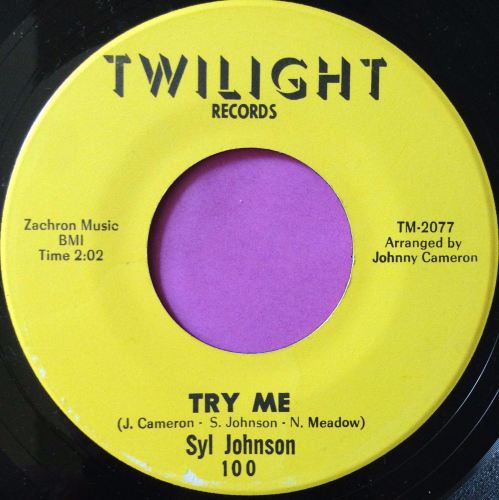 Syl Johnson - That's why - Twinight - M-