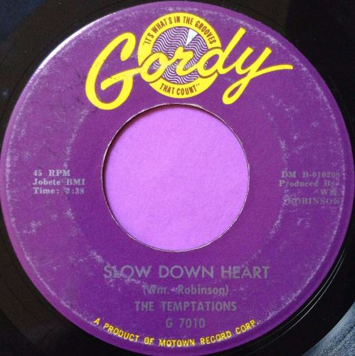 Temptations-Slow down heart-Gordy E