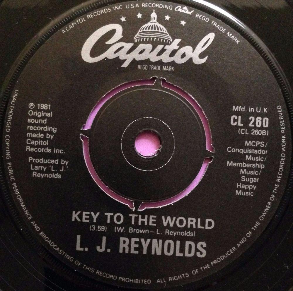 L.J Reynolds-Key to the world-UK Capitol E+