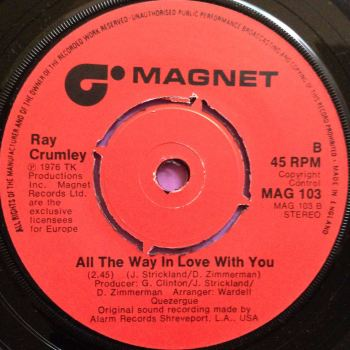 Ray Crumley-All the way in love with you-Magnet M-