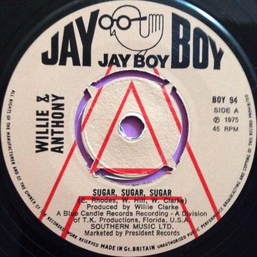 Willie & Anthony-Sugar,sugar,sugar-UK Jayboy Demo E+