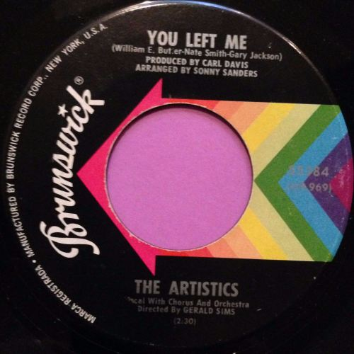 Artistics-You left me-Brunswick E+