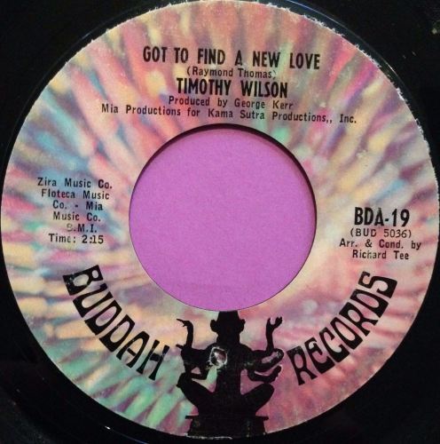 Timothy Wilson-Got to find a new love-Buddah E+