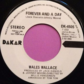 Wales Wallace-Forever and a day-Dakar WD M-