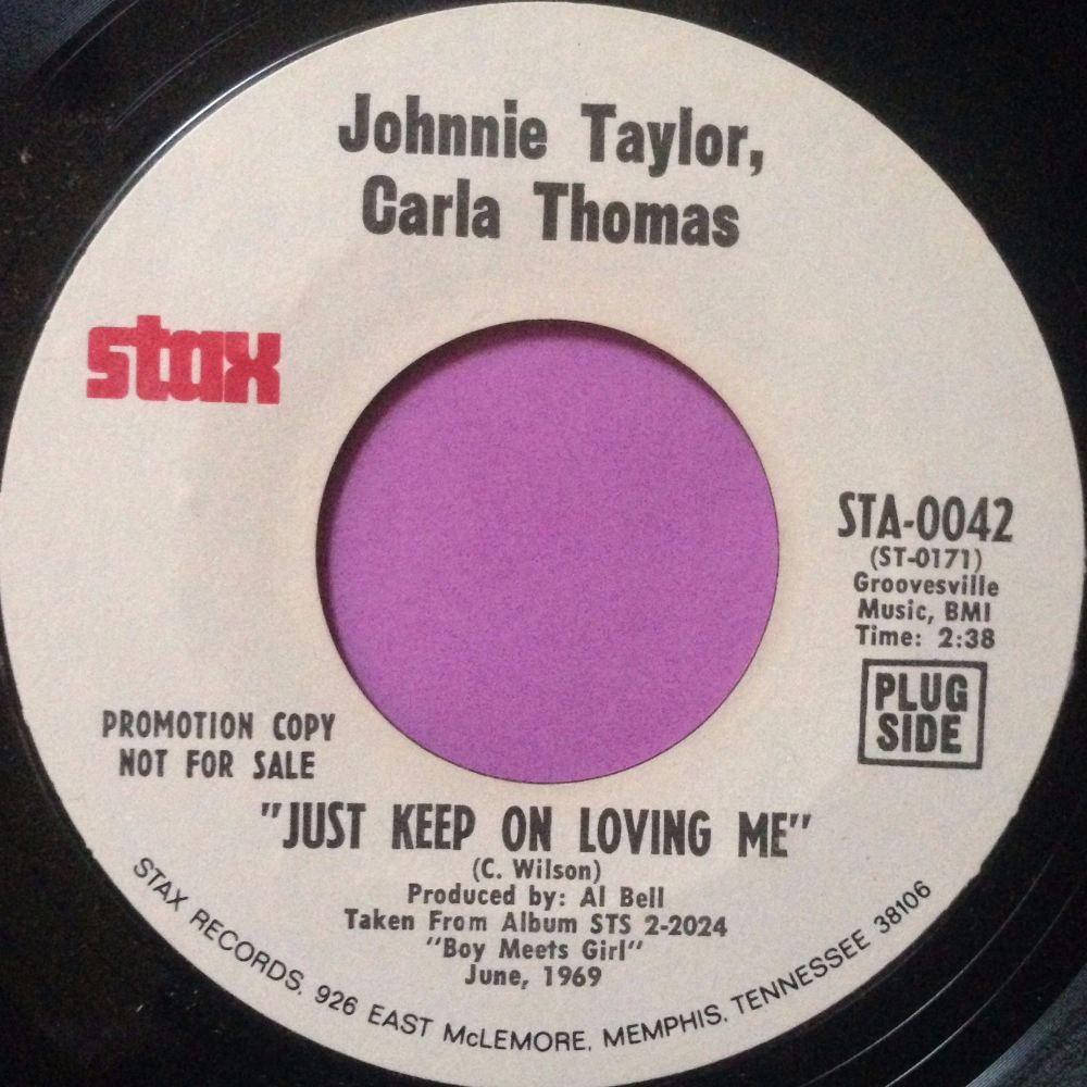 Johnnie Taylor,Carla Thomas-Just keep on loving me-Stax WD E+