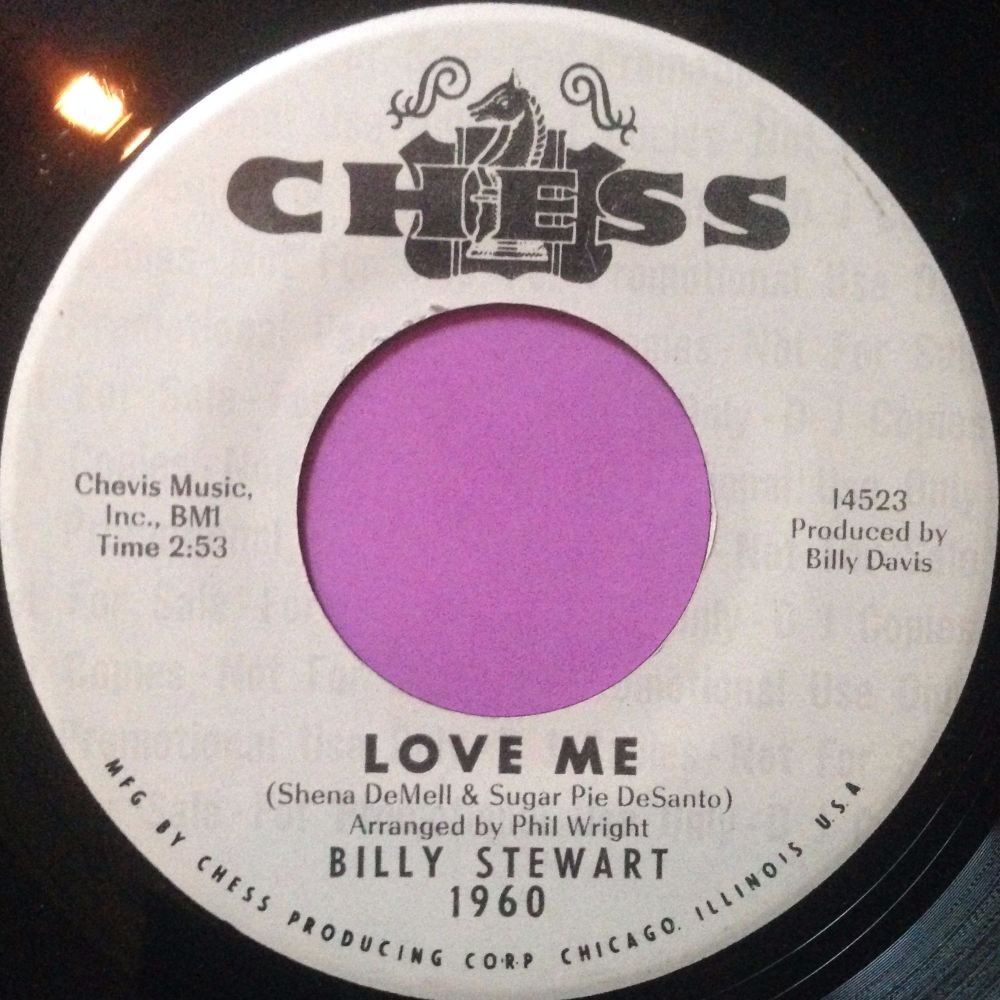 Billy Stewart-Love me-Chess WD  E+