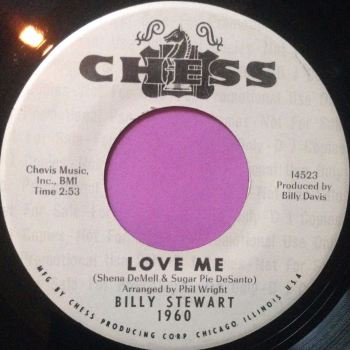Billy Stewart-Love me-Chess WD  E+