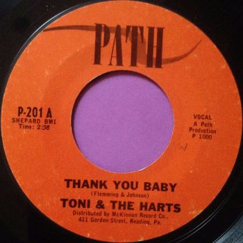 Toni & The Harts-Thank you baby-Path M-