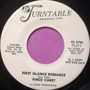 Vince Carey-First glance romance-Turntable WD M-