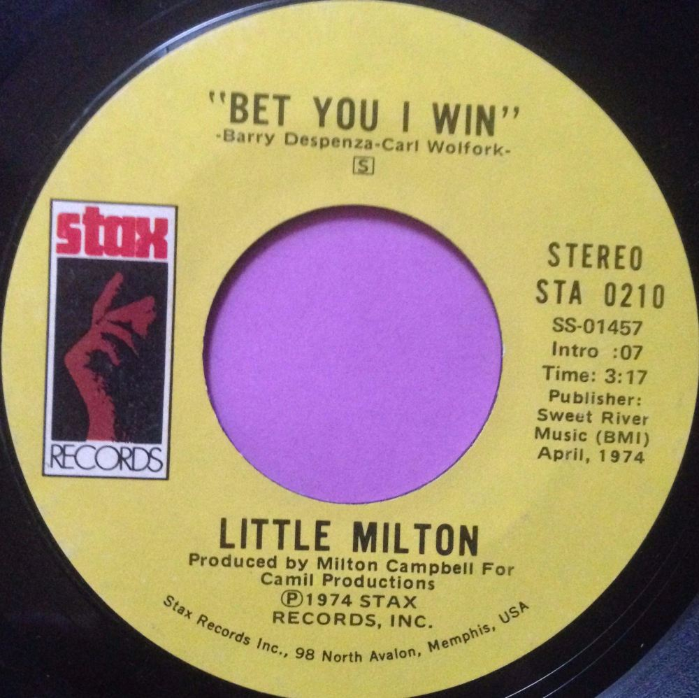 Little Milton-Bet you I win-Stax E+