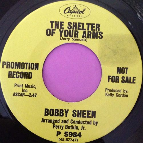 Bobby Sheen-The shelter of your arms-Capitol E+