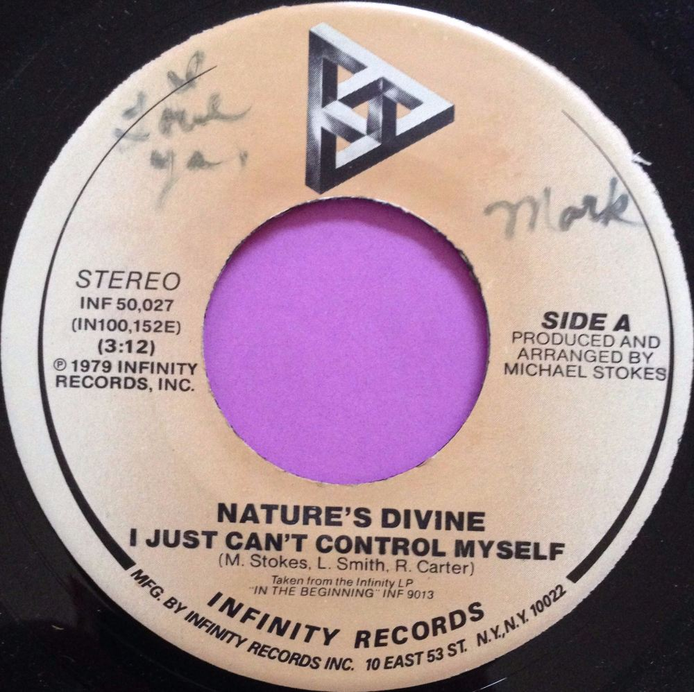Nature`s Devine-I just can`t control myself-Infinity wol E+