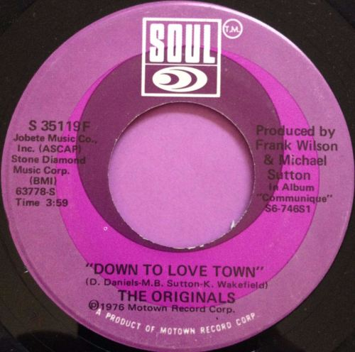 Originals-Down to love town-Soul E+