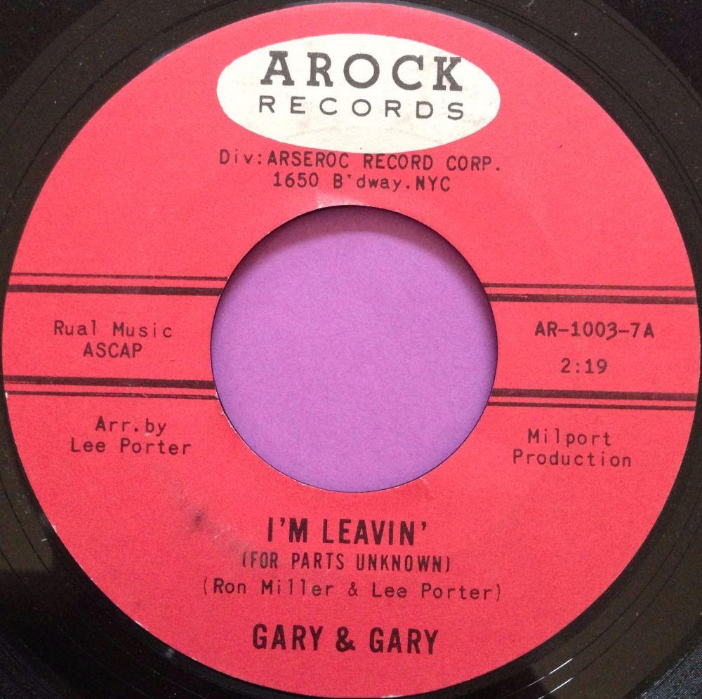 Gary & Gary-I`m leavin`-Arock E+