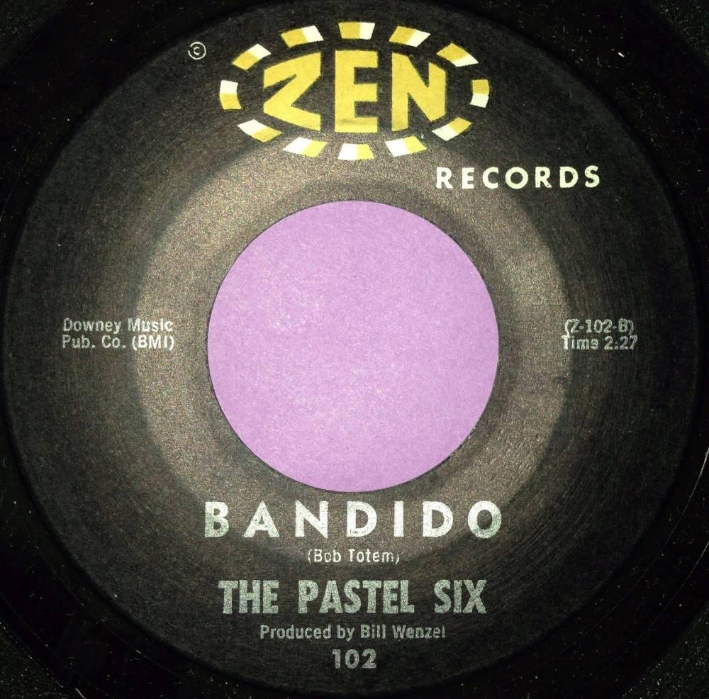 Pastel six-Bandido-Zen M-