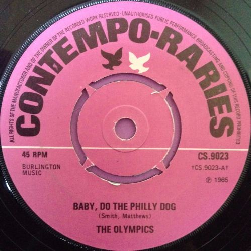 Olympics-Baby do the Philly dog-Contempo raries E
