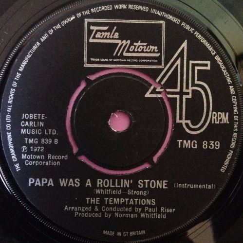 Temptations-Papa was a rolling stone-TMG 839 E+
