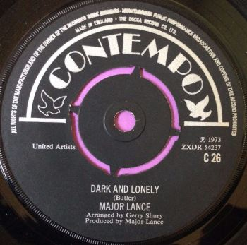 Major Lance-Dark and lonely-UK Contempo E+