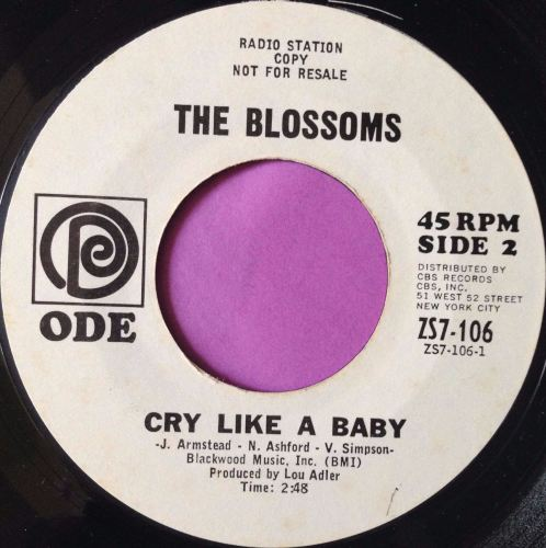 Blossoms-Cry like a baby-Ode E+