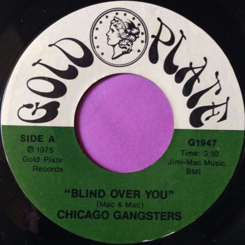 Chicago Gangsters-Blind over you-Gold plate E+