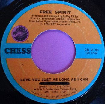 Free Spirit-Love you just as long as I can-Chess E+
