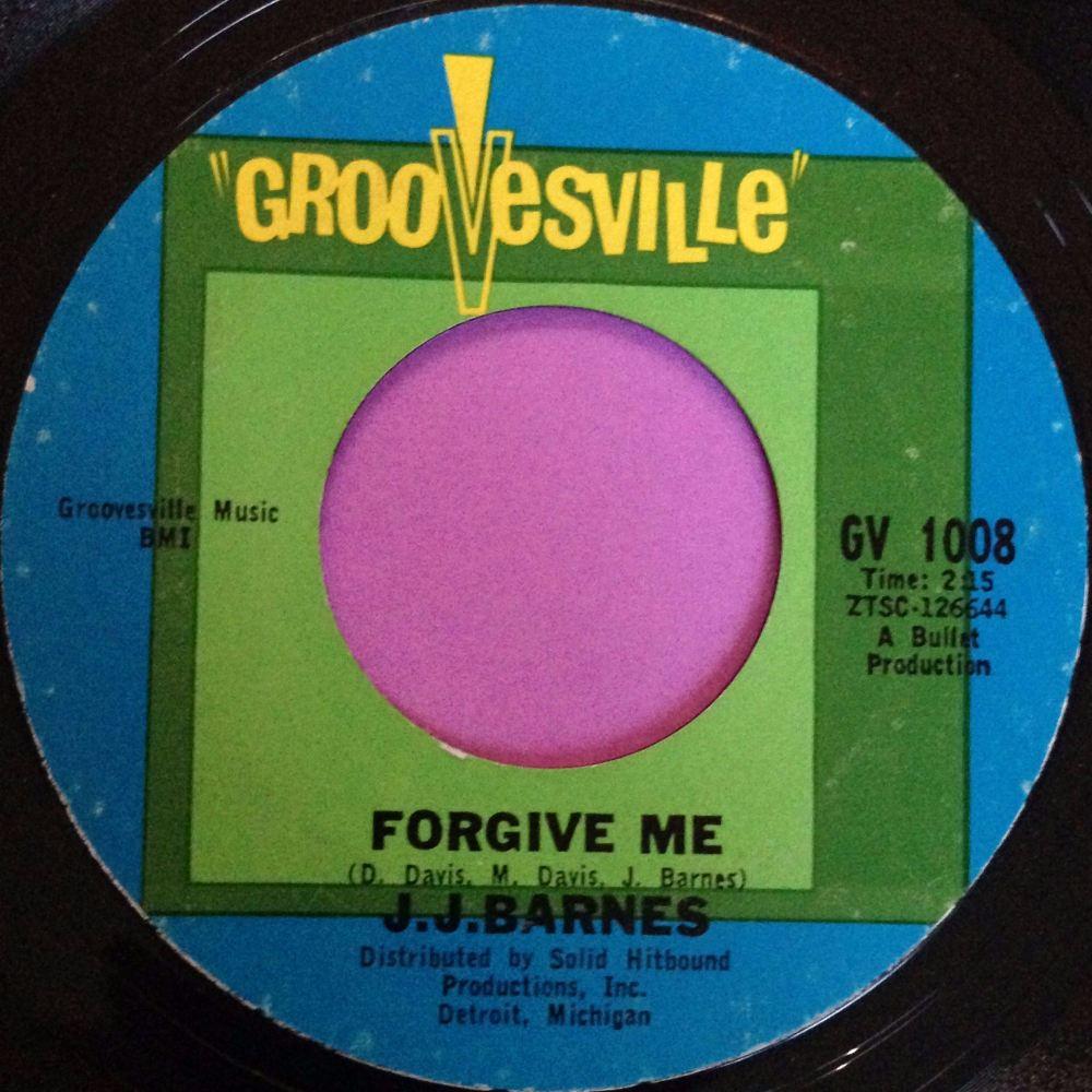 J.J Barnes-Forgive me-Grovesville E