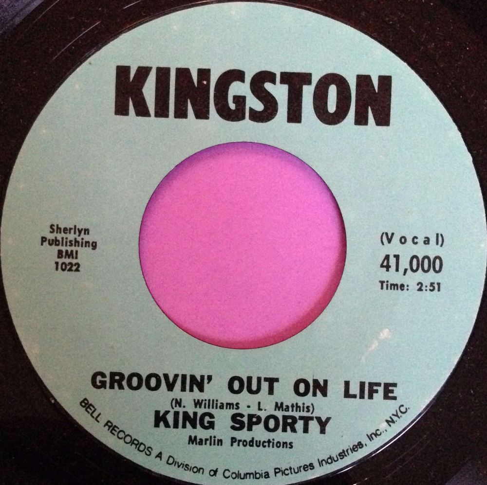 King Sporty-Groovin` out on life-Kingston M-