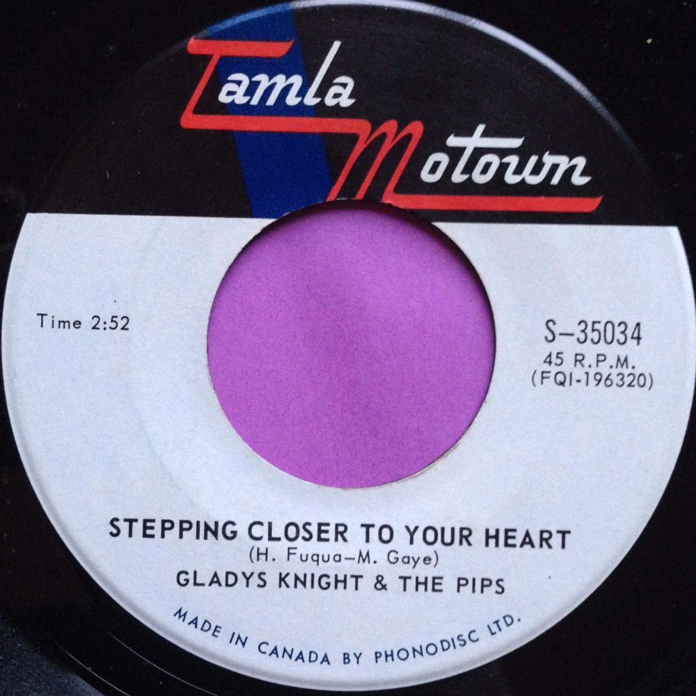 Gladys Knight-Stepping closer to your heart-Canadian Tamla Motown E+