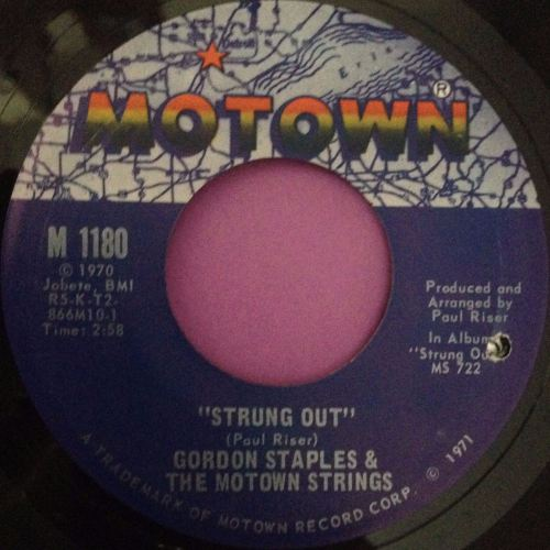 Gordon Staples-Strung out-Motown E+