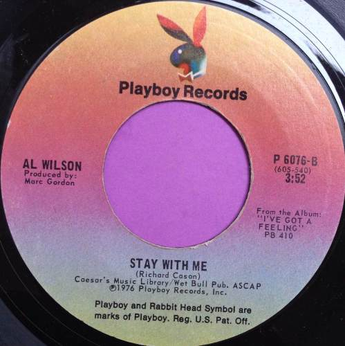 Al Wilson-Stay with me-Playboy E+