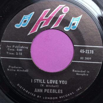 Ann Peebles-I still love you-Hi E+
