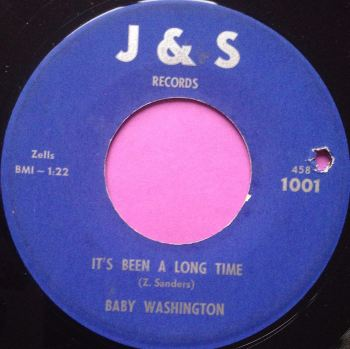 Baby Washington-It`s been a long time-J&S E
