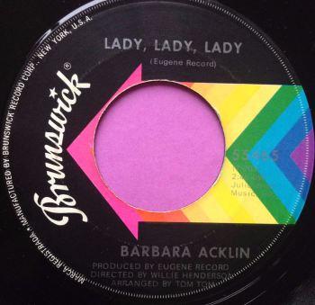 Barbara Acklin-Lady lady lady-Brunswick E