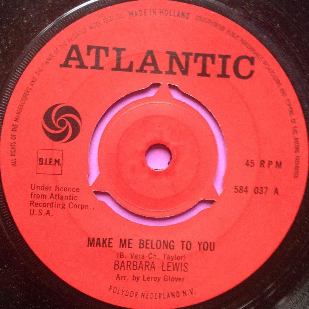 Barbara Lewis-Make me belong to you- Dutch Atlantic E