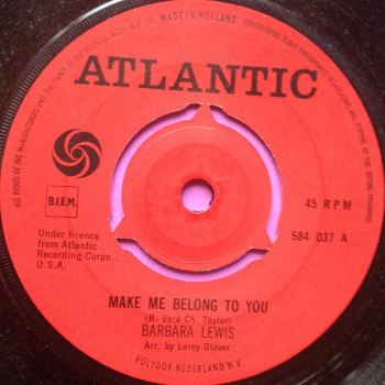 Barbara Lewis-Make me belong to you- Dutch Atlantic E