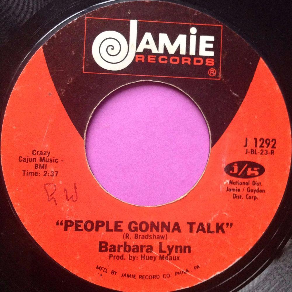 Barbara Lynn - People gonna talk- Jamie - E