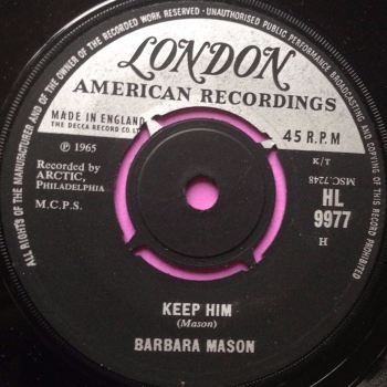 Barbara Mason - Keep him - London - E+