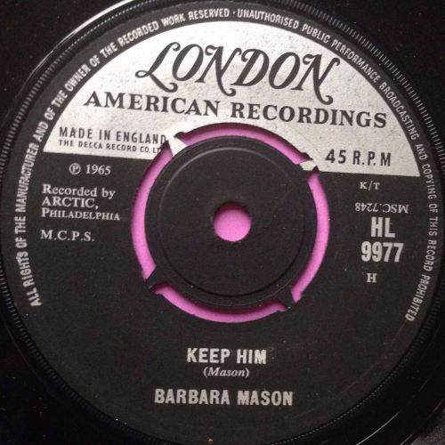 Barbara Mason - Keep him - London - E+