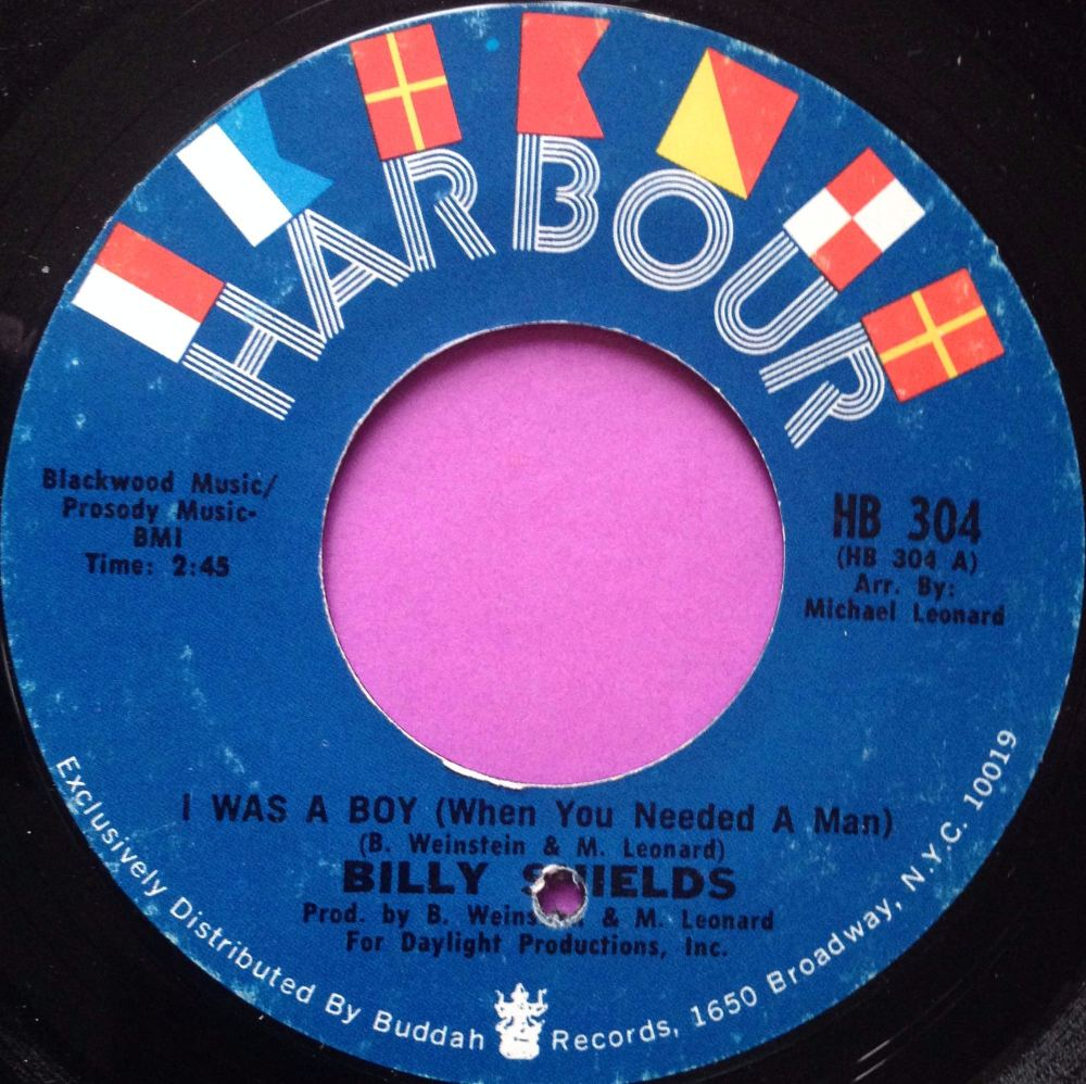 Billy Shields-I was a boy-Harbour E+