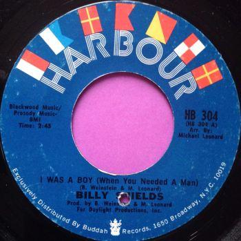 Billy Shields-I was a boy-Harbour E+
