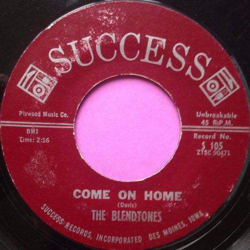 Blendtones-Come on home-Success vg+
