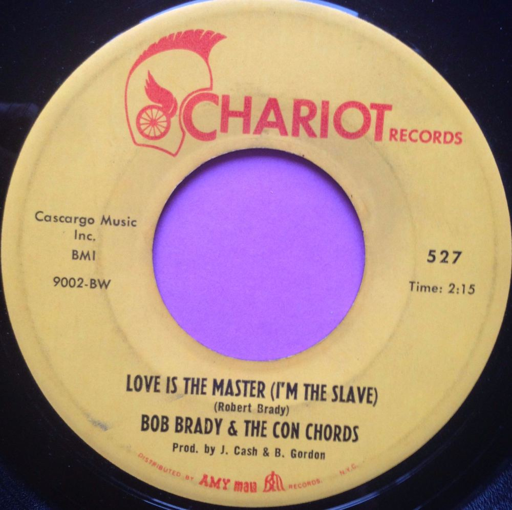 Bob Brady and the Con Chords - Love is the master - Cahriot - E+