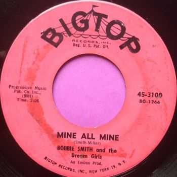 Bobbie Smith- Mine all Mine- Big Top VG+