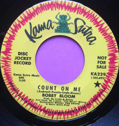 Bobby Bloom-Count on me-Kama Sutra E+