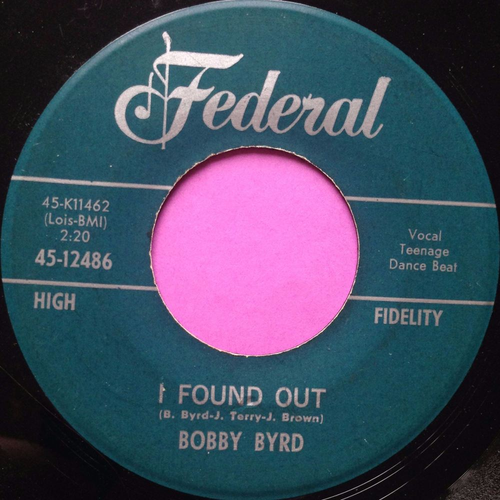 Bobby Byrd- I found out- Federal E+